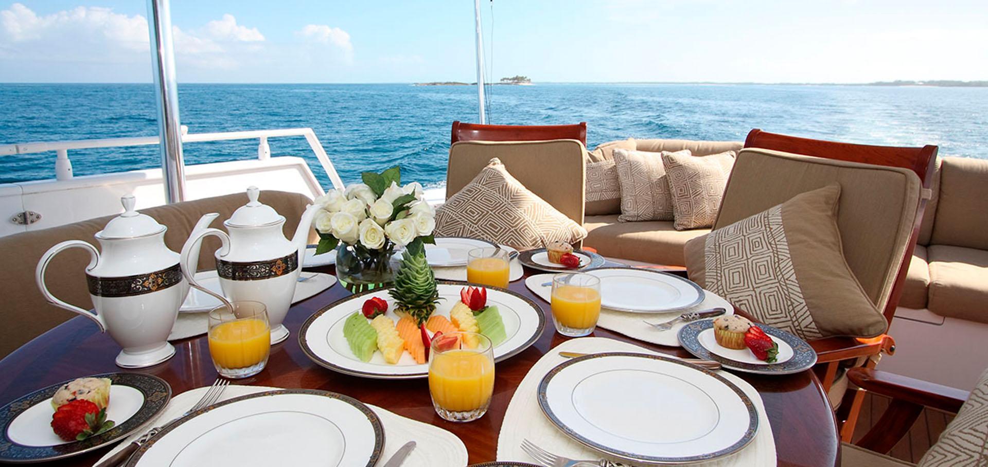 Ресторан на яхте
