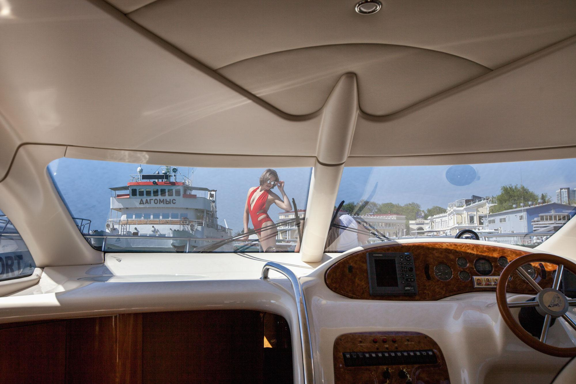 Фото на яхте в Сочи