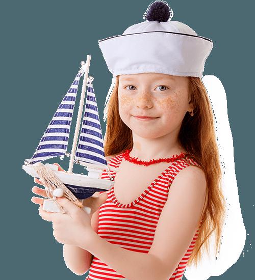 Девочка с яхтой