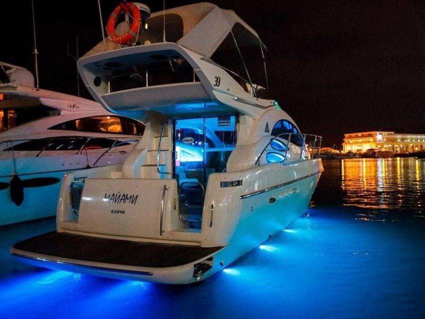 Яхта Майами