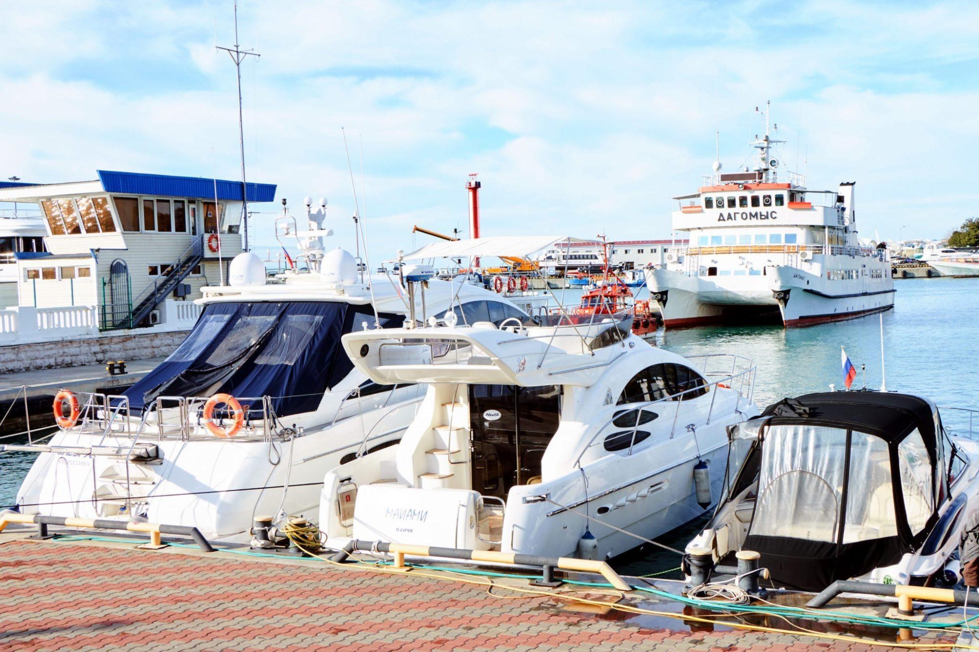 Яхты в Сочи