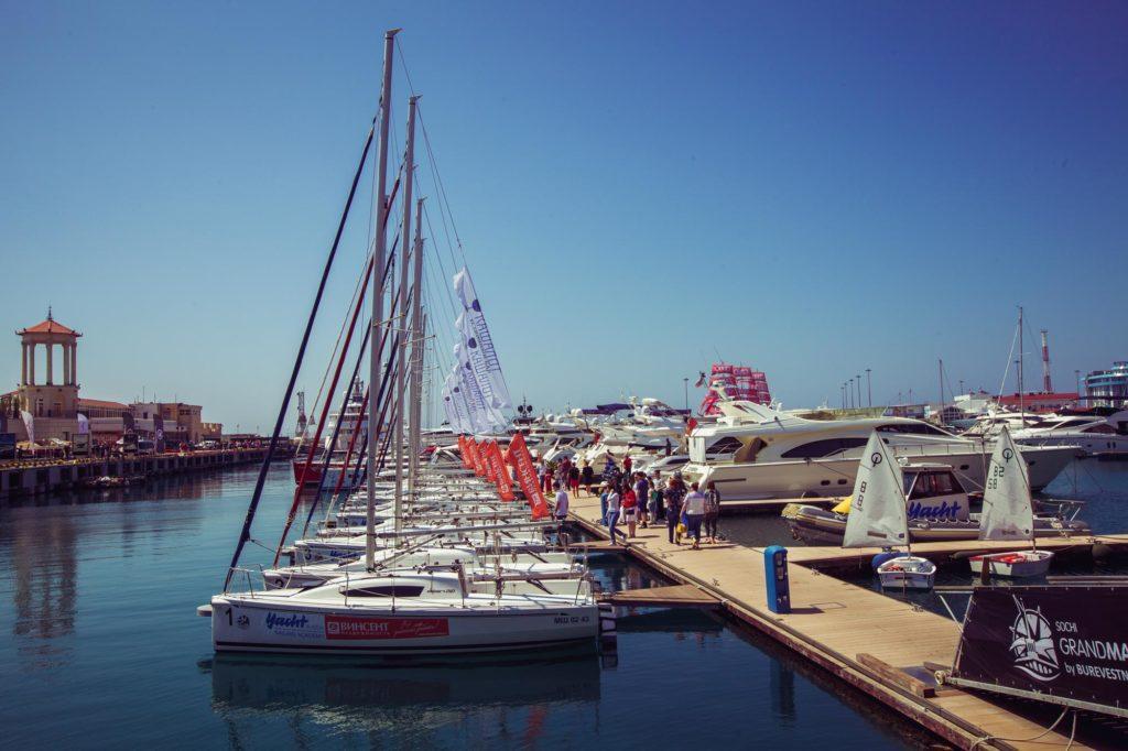 Парусные яхты в Сочи