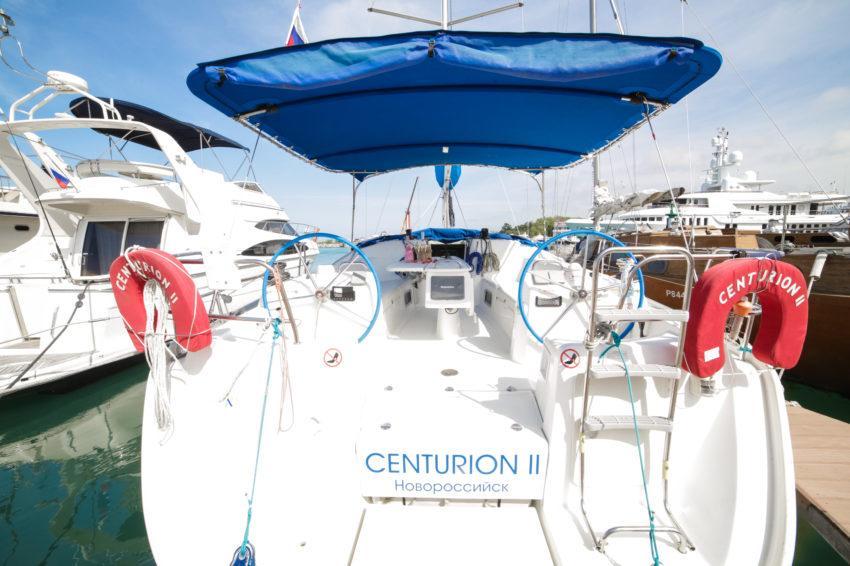 Кафе на парусной яхте Центурион