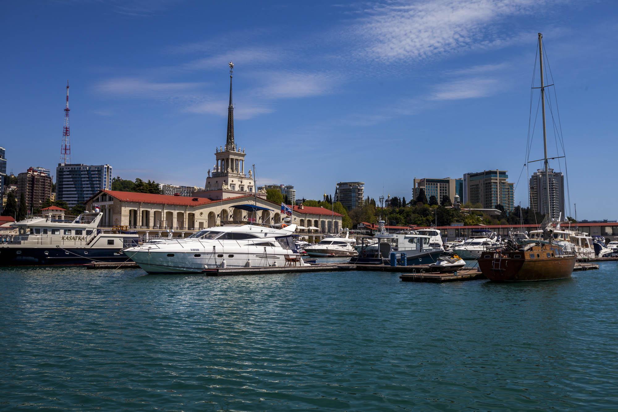 марина морского порта Сочи